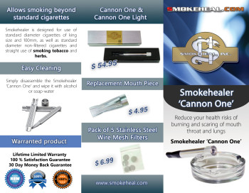 Smokehealer Brochure
